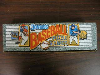 SEALED 1990 Donruss MLB Baseball Puzzle Cards Complete 716 Factory Set