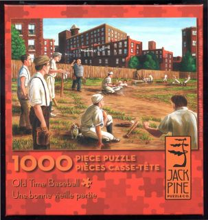 Old Time Baseball New 1000 PC Jigsaw Puzzle Sports