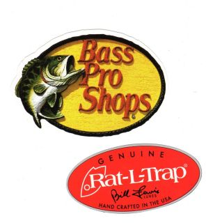 Archery decal on popscreen for Bass pro shop fishing lures