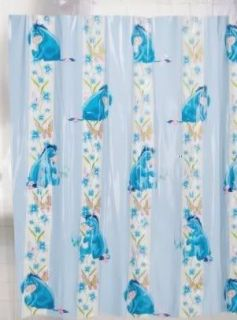 Disney Bathroom Kids Ariel Eeyore Cars Shower Curtain