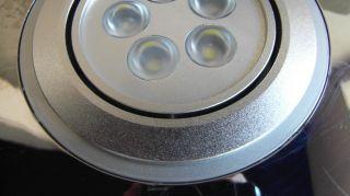 steel Color SILENT SERIES Bathroom Exhaust Fan, 85 CFM, LED LIGHTS