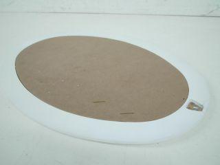 DecoLav 9805 WH Wood Frame Mirror White