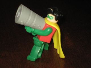 McDonalds Batman Lego Robin Figure Happy Meal Toy RARE