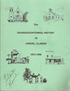 History Harvel Illinois Montgomery Christian County