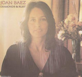 Joan Baez Diamonds & Rust Vinyl LP Record Album