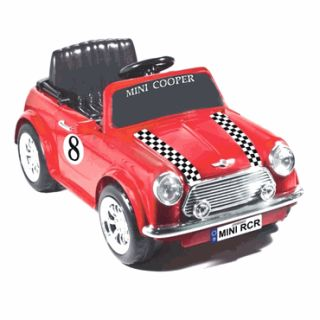 Kids Battery Powered Ride on Toy Red Mini Copper Car Gift Present Idea