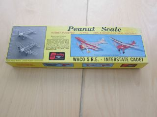 Serling Balsa Wood Model Peanu Scale Waco SRE Inersae Cade Plane