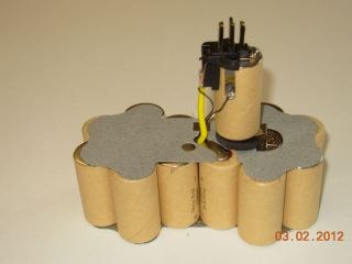 XRP 18 Volt 2 2 Amp Hour NiCd Pod Style Battery Rebuild Kit