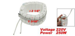 250w watt 220v ceramic band heater 2 1 6 x 1 3 16 please note that we