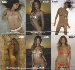 Bar Refaeli 2008 Sports Illustrated Swimsuit Edition Card Set 13 18