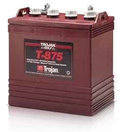 trojan 8 VOLT 8V 8 V golf cart batteries BATTERY club car yamaha T 875