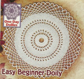 Home Decorating on Beginner Doily Crochet Pattern Home Decor Doilies
