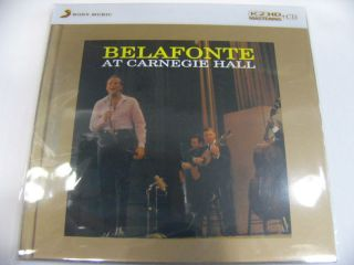 Harry Belafonte at Carnegie Hall K2HD CD New Japan Sony