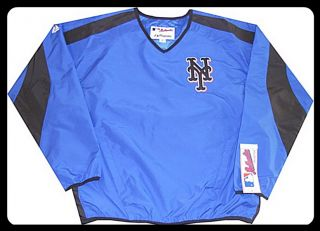 New York Mets MLB Authentic Batting Practice Jacket