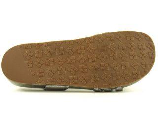 BCBGMAXAZRIA Brinceton Pewter Womens Shoes Sandals 8