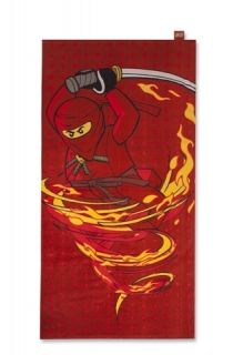 Lego Ninjago Beach Bath Swimming Towel Fire