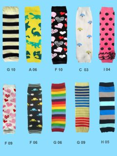 Baby Toddler Leg Warmers Great with Tights Leggings Trousers Skirts