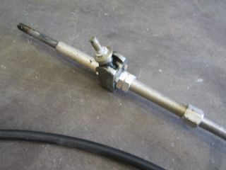 My rack pinion steering on my bayliner capri is extrem - JustAnswer