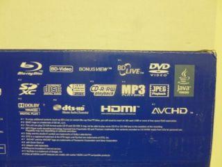 DMP BD655P K Blu Ray Player Networking/USB.SDXC/BD Live/Java Powered