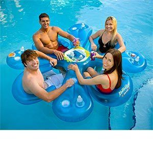 Inflatable Pool Party Bar Floats Float Beach Lake Ahh