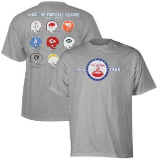 Reebok American Football League Ash Field Vintage T shirt   S