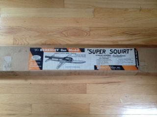 Berkeley Super Squirt Controline Model Airplane Kit