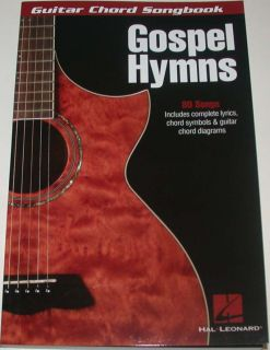 Gospel Hymns Guitar Chord Songbook Symbols Diagrams 1423451880