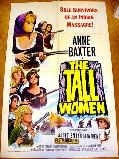 The Tall Women 66 Anne Baxter Classic 1 Sheet Poster
