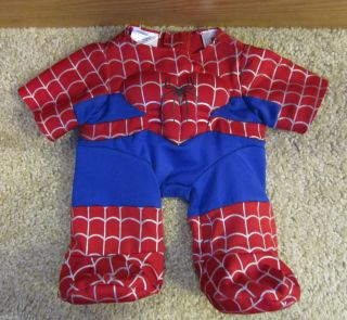 Build A Bear Workshop Spider Man Spiderman Outfit Clothes LN