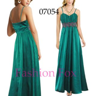 Beauty Green Evening Dress Party Gown Long Fashion Dresses Prom Gown