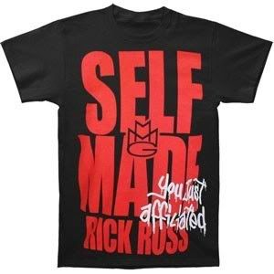 Rick Ross Self Made Maybach Music Group MMG Official Unisex T Shirt