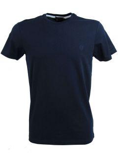 Ben Sherman Mens T Shirt Plain Logo Crew Neck Mod