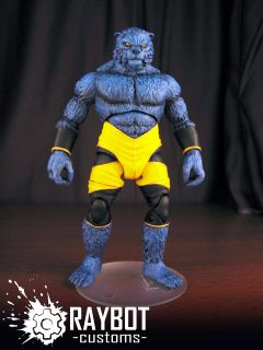 Marvel Legends Beast custom action figure by Raybot Customs   Nemesis