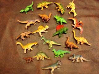 Lot of 32 Dinosaur Toys Tube Assortment Great for Little Hands