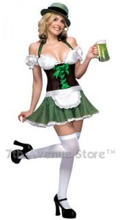 Sexy Irish Beer Girl Costume St Patricks Day Halloween