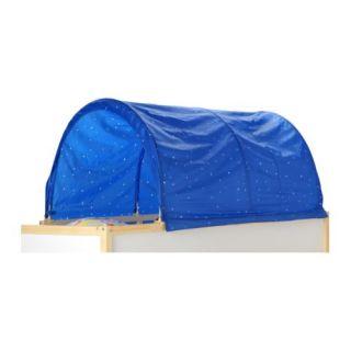IKEA KURA Baby Kids Children Bed Canopy Tent Blue White Star NEW