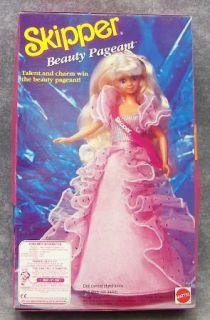 1991 Vintage Beauty Pageant Skipper Barbie Doll Barbie Teen Sister