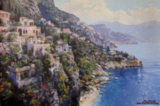 coast by the master of the palette knife howard behrens