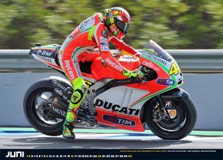 Kalender Moto Racing 2013 MotoGP Valentino Rossi Casey Stoner Stefan