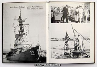 USS Benjamin Stoddert DDG 22 Cruise Book 1978 1979