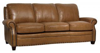 Luke Leather Bennett Sofa and Recliner