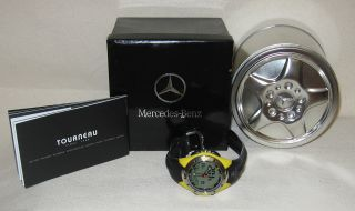 Tourneau Mercedes Benz Womens Sports Watch New in Tin