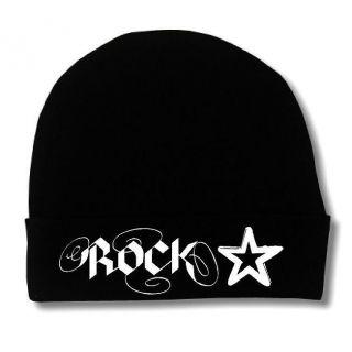 Rock Star Baby Infant Newborn Cap Hat Beanie Beenie Top