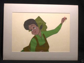 1959 Disney Gold Art Corner Sleeping Beauty PRD Cel