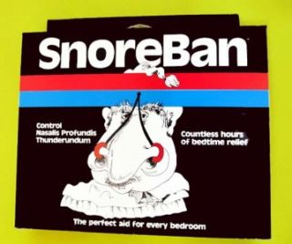 Stop Snoring Aid Remedy Gag Gift Joke New Snore Ban