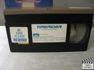 Timerider VHS Belinda Bauer Peter Coyote