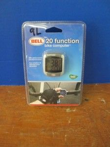 Bell Sports F20 Bike Bicycle 20 Functions Computer Calories Speed
