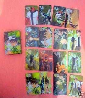 2008 Ben 10Cartoon Network Trading Cards Game