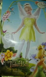 Disney Fairies TINKERBELL XSmall 4 6X 4T 5T Halloween Costume Dress Up