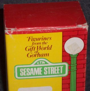 1976 GORHAM SESAME STREET BERT FIGURE   GOOD USED CONDITION